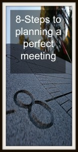 8 steps to a perfect meeting
